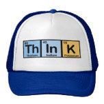 Think hizo de elementos gorros bordados
