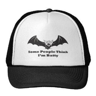 Think I'm Batty Trucker Hat