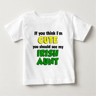 Think I'm Cute Irish Aunt Tee Shirt