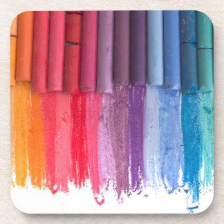 think in color beverage coaster