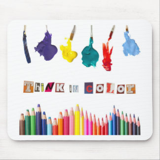 think in color mousepads