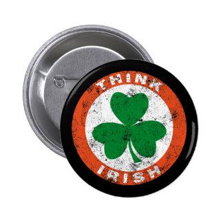 Think Irish Button