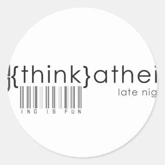 Think is Fun! Classic Round Sticker