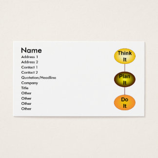 Think It Business Card
