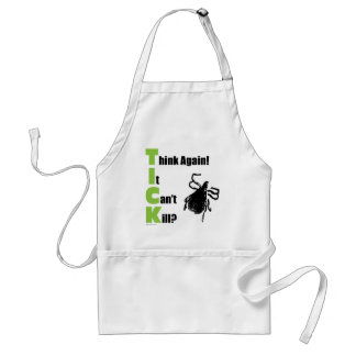Think It Can't Kill? Think Again! Adult Apron
