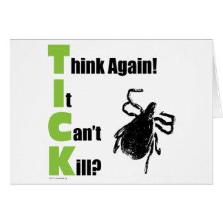 Think It Can't Kill? Think Again! Card