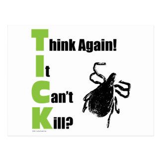 Think It Can't Kill? Think Again! Postcard