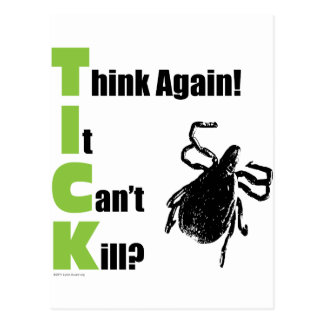 Think It Can't Kill? Think Again! Postcard