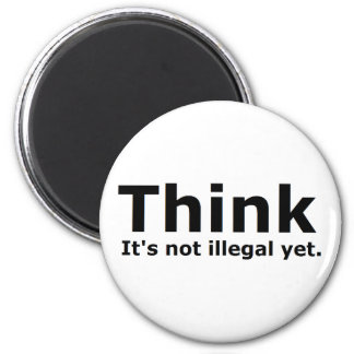 Think it's not illegal yet political gear magnet