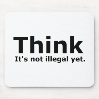 Think it's not illegal yet political gear mouse pads