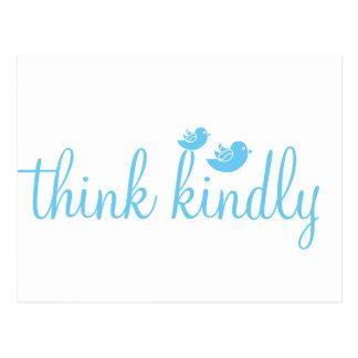 Think Kindly Postcard