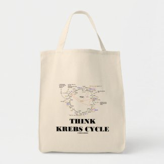 Think Krebs Cycle (Citric Acid Cycle - TCAC) Canvas Bag