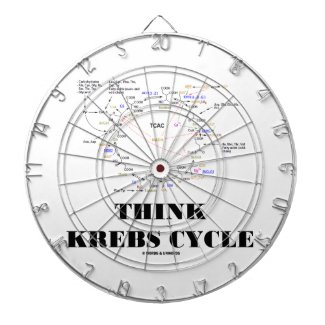 Think Krebs Cycle (Citric Acid Cycle - TCAC) Dart Boards