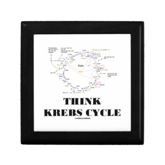 Think Krebs Cycle Citric Acid Cycle - TCAC Jewelry Box