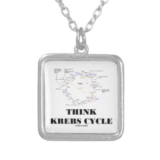 Think Krebs Cycle (Citric Acid Cycle - TCAC) Pendant