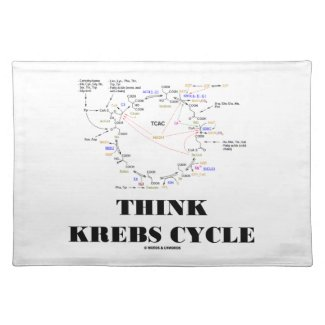 Think Krebs Cycle (Citric Acid Cycle - TCAC) Placemats