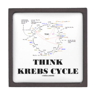 Think Krebs Cycle Citric Acid Cycle - TCAC Premium Gift Boxes