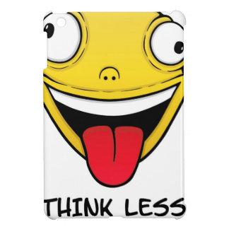 Think less, stupid more iPad mini cover