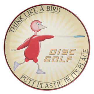 Think Like A Bird #1 Dinner Plate
