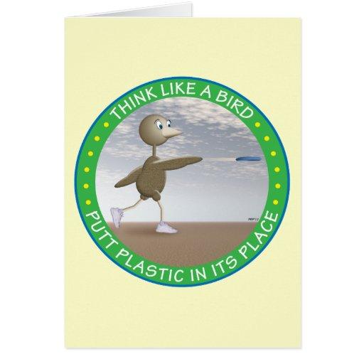 Think Like A Bird Card