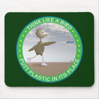 Think Like A Bird Mouse Pad