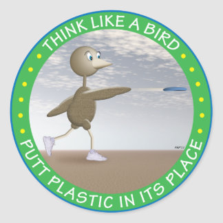 Think Like A Bird Stickers