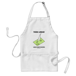 Think Linear Linear Least Squares (Statistics) Adult Apron