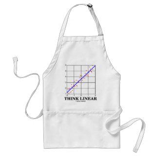 Think Linear (Linear Regression Statistics) Adult Apron