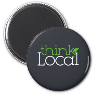 Think Local Magnet