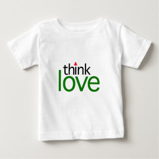 Think Love (Christmas Love Edition) Baby T-Shirt