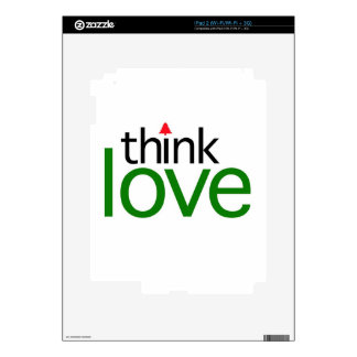 Think Love (Christmas Love Edition) Skins For The iPad 2