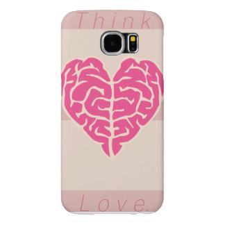 Think Love. Samsung Galaxy S6 Cases