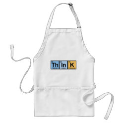 Apron with Think design
