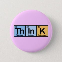 Round Button with Think design