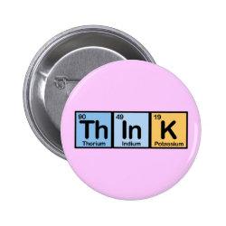 Round Button with Think design