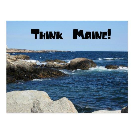Think Main Postcard