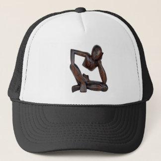 Think man trucker hat
