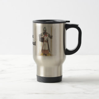 Think Medieval 15 Oz Stainless Steel Travel Mug