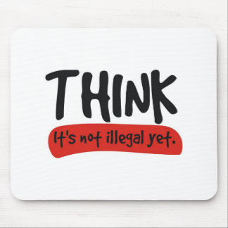 think! mouse pad