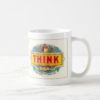 """""""Think"""" Mug"""