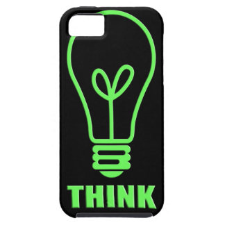 think neon green iPhone SE/5/5s case
