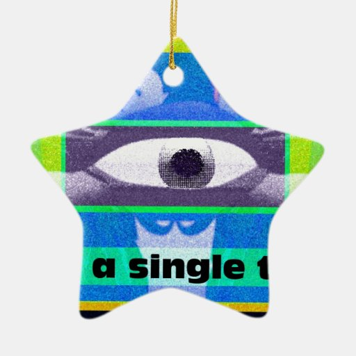 Think of a single thing christmas tree ornaments