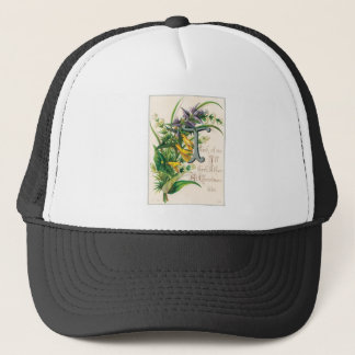 Think of Me, I'll Think of Thee- Christmas Card Trucker Hat