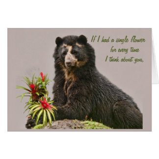 Think of you Bubu Greeting Card