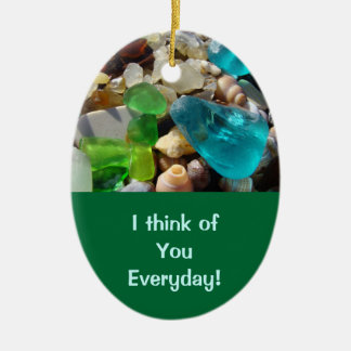 Think of You Everyday oranments Love Your Smile Ceramic Ornament