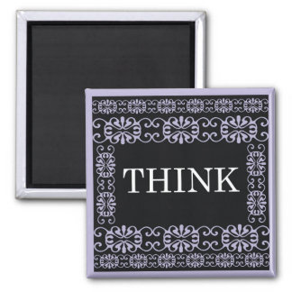 Think - One Word Quote For Motivation Magnet