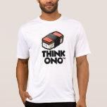 Think Ono #1 Hormel Spam Musubi Snack T-shirt at Zazzle