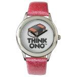 Think Ono #1 Hormel Spam Musubi Snack Wrist Watch at Zazzle