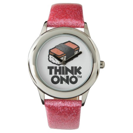 Think Ono #1 Hormel Spam Musubi Snack Wristwatches