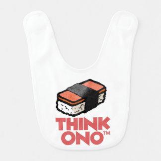 Think Ono #1 Hormel Spam Musubi Snack Bibs